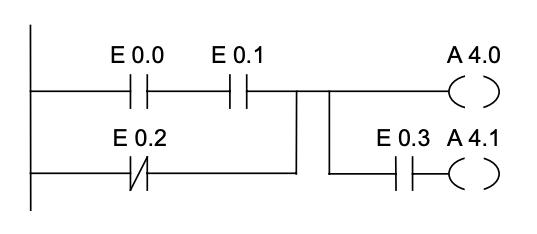 Diagrama de escalera: ejemplo 2