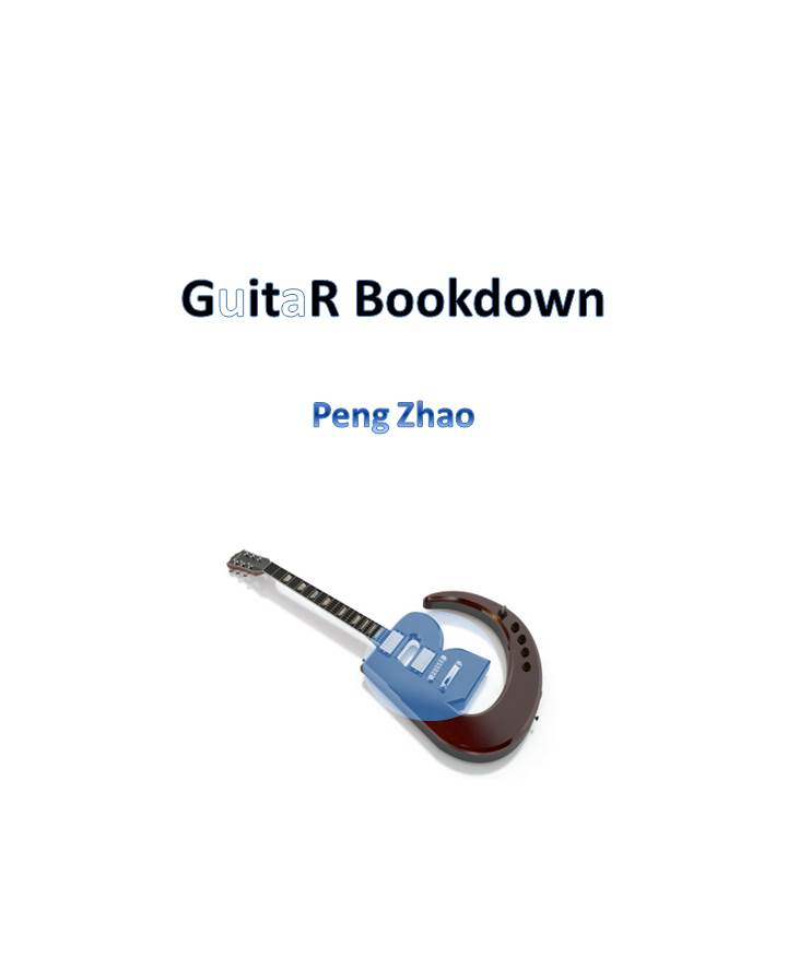 GuitaR Bookdown