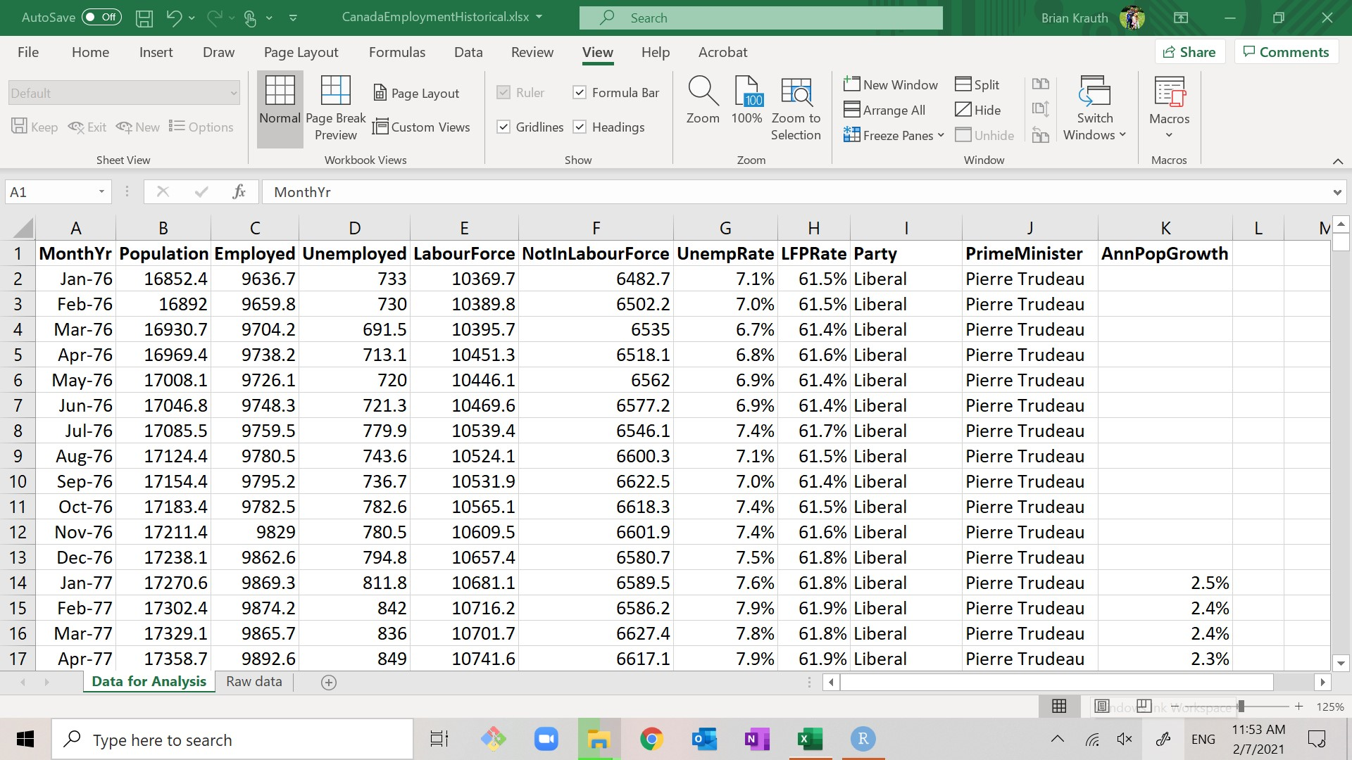 Chapter 20 Basic data analysis with Excel   Introductory Statistics ...