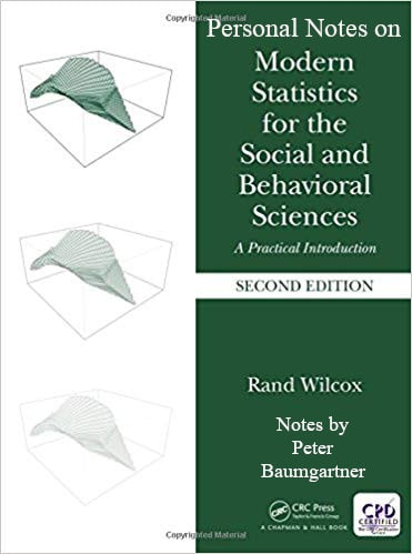 Notes on Modern Statistics for the Social and Behavioral Sciences (MSSBS)