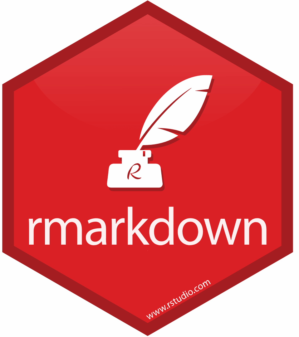 The rmarkddown hex sticker
